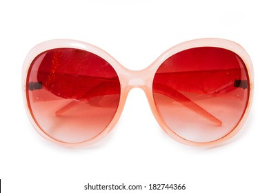 Through rose-colored glasses the world looks much more optimistic.