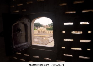 Through the window (indian architecture, Rajasthan)