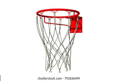 throwing basket 3D rendering