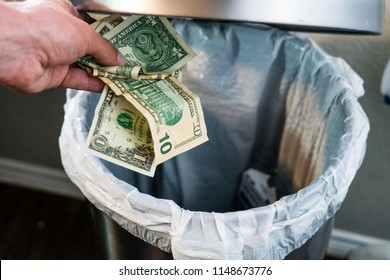 Throwing Money Away Images Stock Photos Amp Vectors