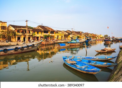 Thu Bon River in Hoi An Ancient Town