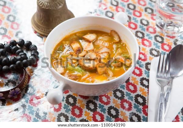 Thukpa Chicken nepalese cuisine