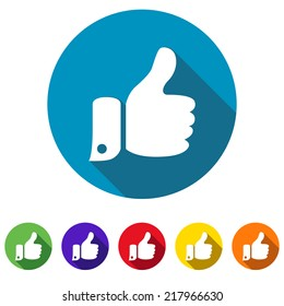 thumbs up web icon