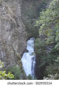 Thunderbird Falls in Alaska