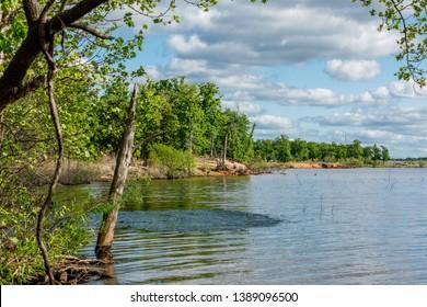 Thunderbird lake state park in Oklahoma.