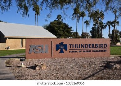 Thunderbird School of Global  Management Arizona State University Glendale Arizona 2/25/18