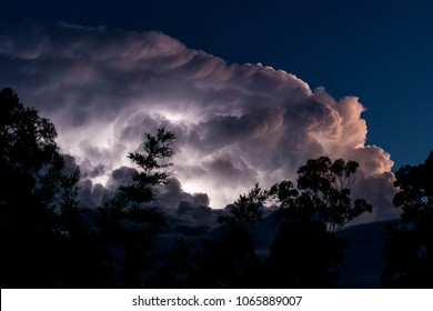 Thunderstorm Lightning Clouds