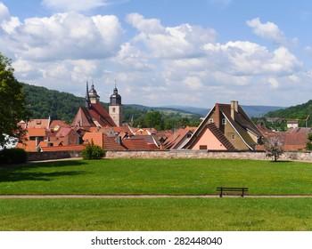 Thuringian village Schmalkalden