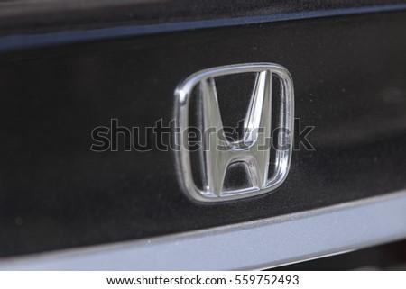 Thursday 19 January 2017 Honda Symbol Stock Photo Edit Now
