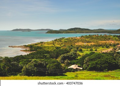 Thursday Island from Green hill fort in the Torres Strait, Australia