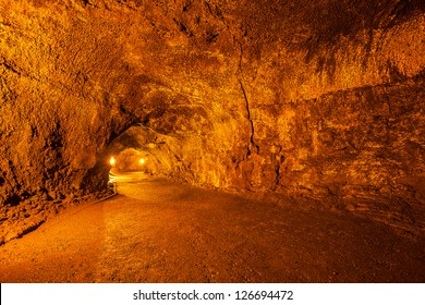 Thurston Lava Tube in Hawaii Volcanoes National Park, Hawaii