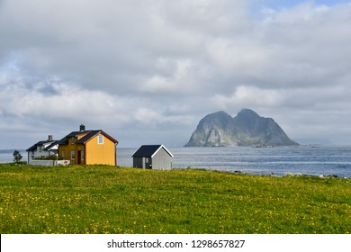 Thz landscape in vaeroy (Værøy ) Norway