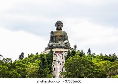 Tian Tan Buddha (Ngong Ping 360) in Hongkong