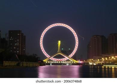 Tianjin Eye, the symbol of Tianjin