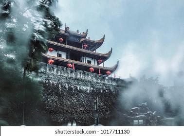 Tianxin Pavillion Park in Changsha China