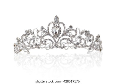 Tiara with clipping path