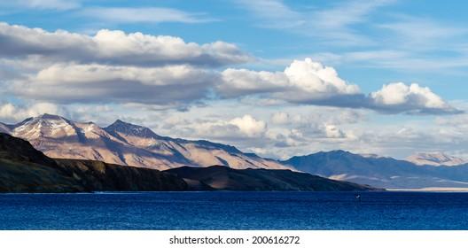 Tibet. Lake Mansarovar. Early morning.