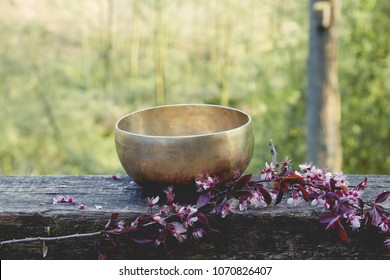 tibetan bowl made of seven metals