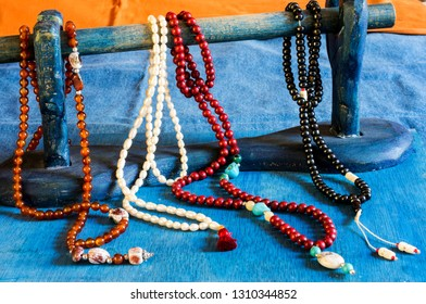 Tibetan Buddhist rosary, called mala or japamala