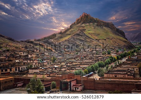 Tibetan Fort on top