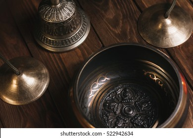 Tibetan instruments for music meditation