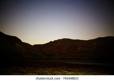 Tibetan landscape travel