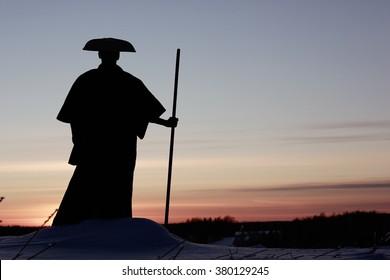 Tibetan monk way of the warrior