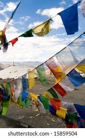 Tibetan Prayer Flags, Himalayas, India