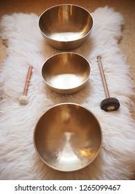 Tibetan singing bowls, sound of healing, Meditation and relax, sound bath.