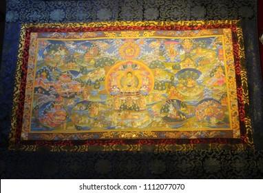 Tibetan Thanks painting