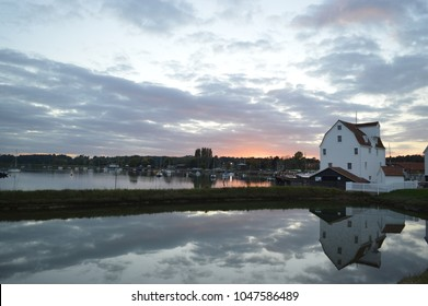 Tide Mill Woodbridge By The River Deben At Sunset