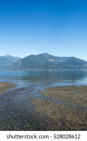 Tide out in Howe Sound, Sea to Sky, near Squamish, British Columbia, Canada