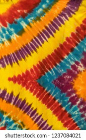 Tie Dye Shirt Abstract Patterns