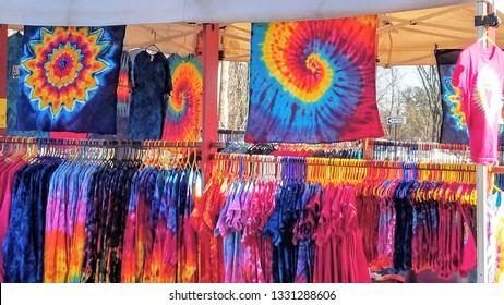 Tie Dye Vendor Woodstock NY