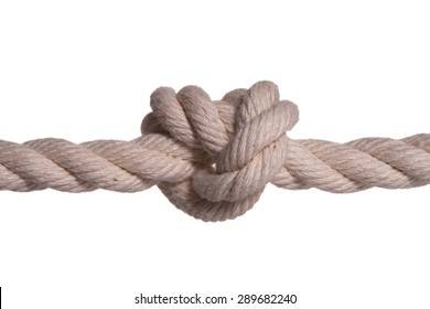 I tie up a rope