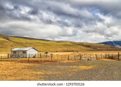 Tierra del Fuego and Patagonia landscape in Argentina