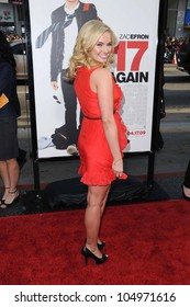 Tiffany Thornton  at the Los Angeles Premiere of '17 Again'. Grauman's Chinese Theatre, Hollywood, CA. 04-17-09