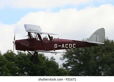 Tiger Moth biplane training aircraft
