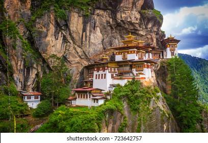 Tiger nest monastery, Taktshang Goemba, Paro, Bhutan