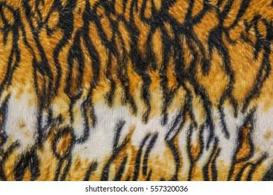 Tiger patterned background