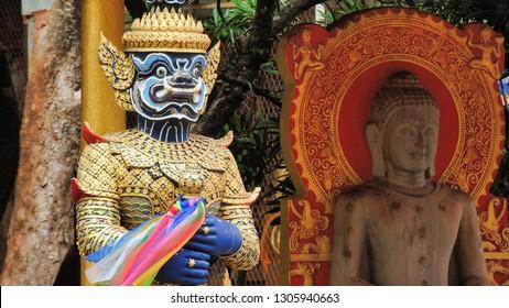 Tiger Temple in Krabi Thailand