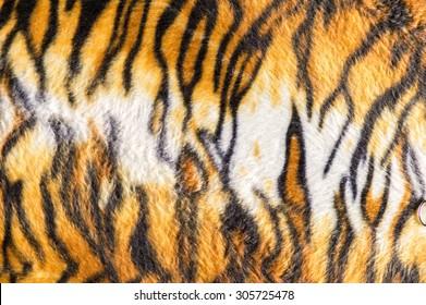 Tiger texture fur background