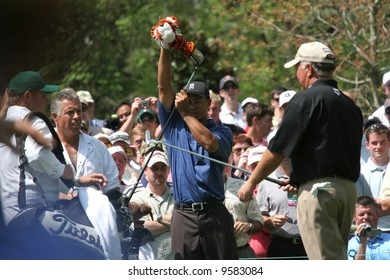 Tiger Woods at  Augusta Masters of golf 2006, Georgia,