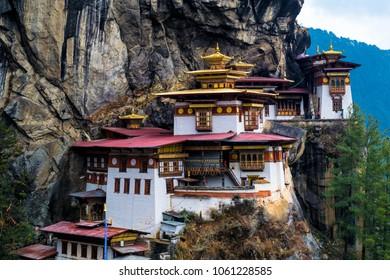 Tiger's Nest (Taktsang Dzong), Paro, Bhutan