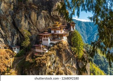Tiger's nest Temple, Paro valley - Bhutan