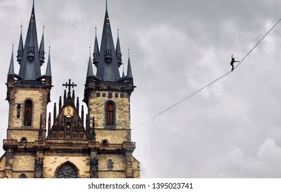 Tightroper - Prague, Czech Republic
