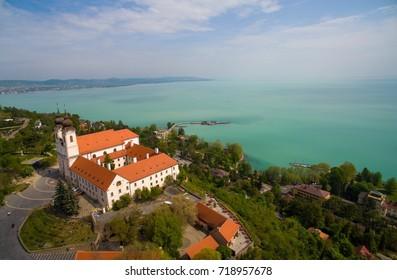 Tihany, Balaton aerial