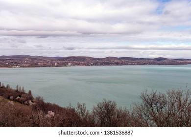 Tihany penisula in Lake Balaton, Hungary.