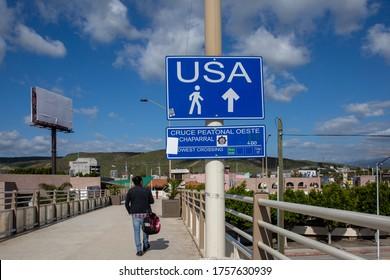 Tijuana, Mexico/ 05-16-2019 Tijuana Mexico border