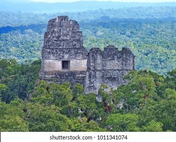 Tikal: ancient Mayan citadel in Guatemala